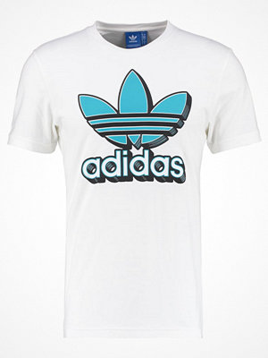 Adidas Originals TREFOIL Tshirt med tryck white