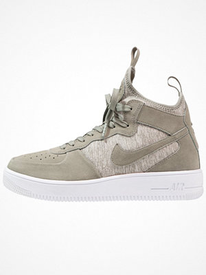 Nike Sportswear AIR FORCE 1 ULTRAFORCE MID PRM Höga sneakers dark stucco/white