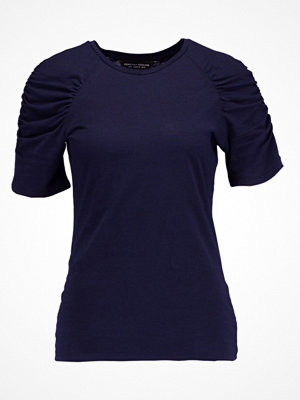 Dorothy Perkins RUCHES Tshirt med tryck navy blue