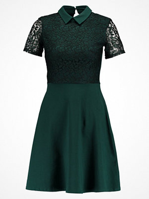 Dorothy Perkins COLLARED Jerseyklänning green