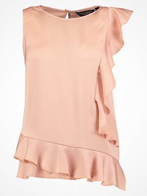 Dorothy Perkins BUBBLE RUFFLE Blus nude