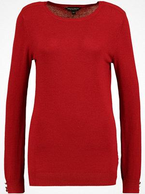 Dorothy Perkins BUTTON SHOULDER Stickad tröja red