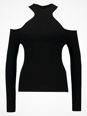 Even&Odd COLD SHOULDER Stickad tröja black
