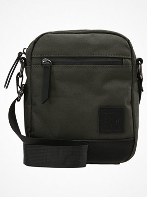 Väskor & bags - YourTurn Axelremsväska olive/black