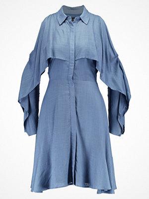 Lost Ink SPLIT SLEEVE Skjortklänning dark blue