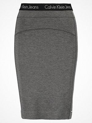 Calvin Klein Jeans KIRI  Pennkjol mid grey heat