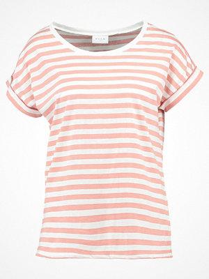 Vila VIDREAMERS PURE LUX Tshirt med tryck rose dawn/snow white