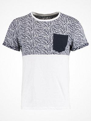 Pier One Tshirt med tryck dark blue