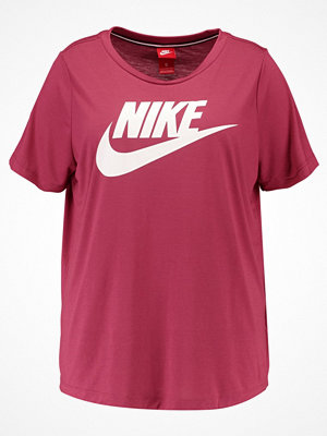 Nike Sportswear ESSENTIAL Tshirt med tryck port/white
