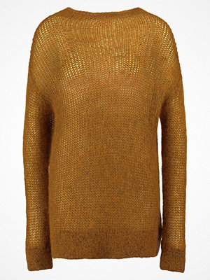 Gestuz CAROLINN  Stickad tröja inca gold