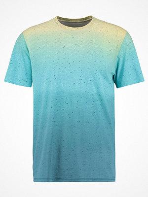 YourTurn Tshirt med tryck light blue/dark blue