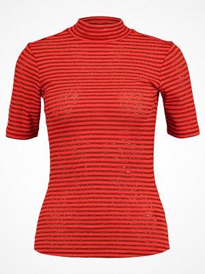 G-Star GStar XINVA SLIM FUNNEL T 1/2 SL Tshirt med tryck red pepper/brown brandy