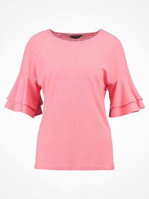 Dorothy Perkins DOUBLE RUFFLE Blus pink