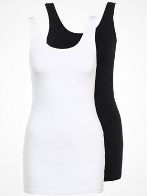 Only ONLLIVE LOVE NEW 2PACK Linne black/white
