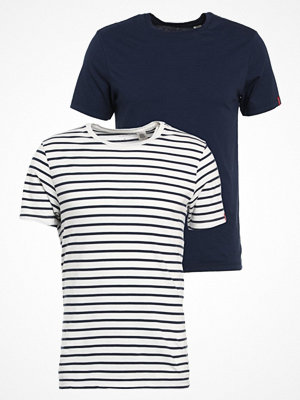 Levi's® SLIM FIT 2 PACK  Tshirt bas dark blue