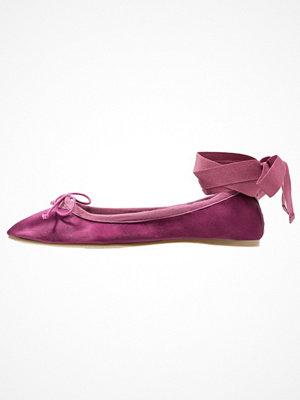 Ballerinaskor - Topshop VIOLET SATN BALET Ballerinas purple