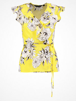 Dorothy Perkins FLORAL WRAP Blus yellow