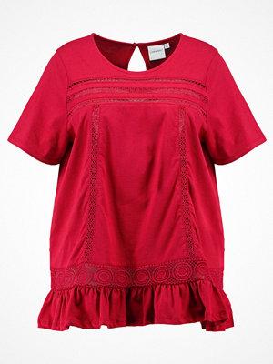 Junarose JRPIPI Tshirt med tryck deep claret