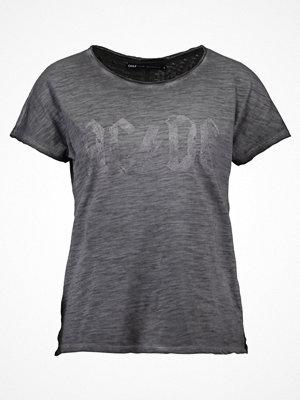 Only ONLAC/DC Tshirt med tryck black