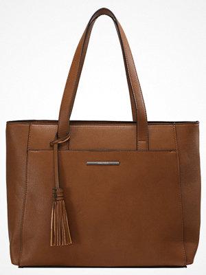 Anna Field brun shopper Shoppingväska cognac