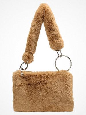 Topshop B&B TEDDY Handväska camel