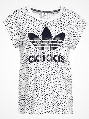 Adidas Originals ROLL UP Tshirt med tryck white/legink