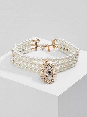 Topshop PEARL EYE CHOKER Halsband crystal