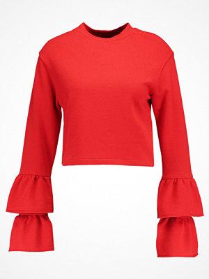 Even&Odd FRILL  Sweatshirt red