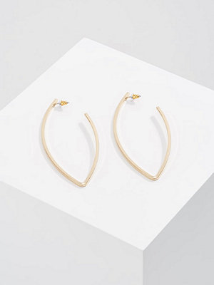Topshop örhängen LONG OVAL HOOP Örhänge goldcoloured