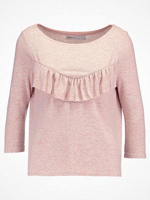 Only Petite ONLMAYE FLOUNCE  Stickad tröja rose dawn