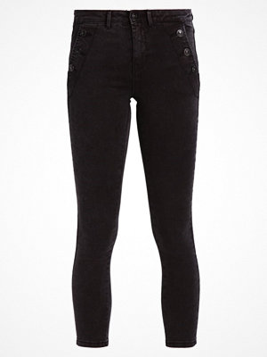 Only ONLROYAL BUTTON DETAIL Jeans Skinny Fit black