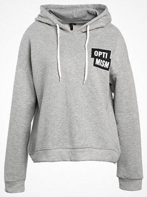 Street & luvtröjor - Vero Moda VMTESTI Luvtröja light grey melange