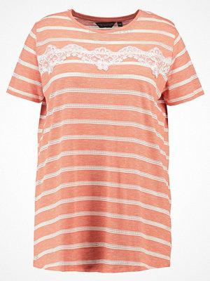 Dorothy Perkins Curve STRIPE Tshirt med tryck pink