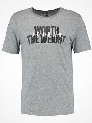 Jordan WORTH THE WEIGHT Tshirt med tryck carbon heather
