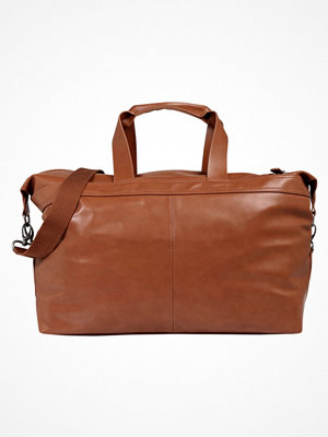 YourTurn Weekendbag cognac brun