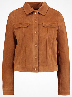 Lee SUEDE JACKET   Skinnjacka autumn glaze
