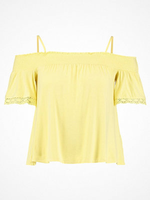 Even&Odd Tshirt med tryck light yellow