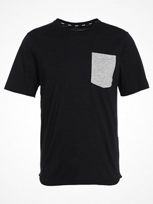 Nike Sb DRY FIT Tshirt med tryck black/dark grey heather