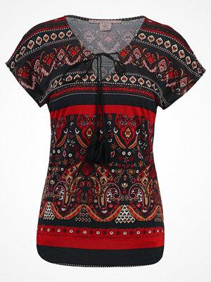 Anna Field Tshirt med tryck red/black