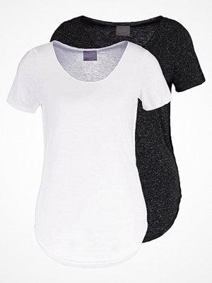 Vero Moda VMLUA 2 PACK Tshirt bas black/bright white