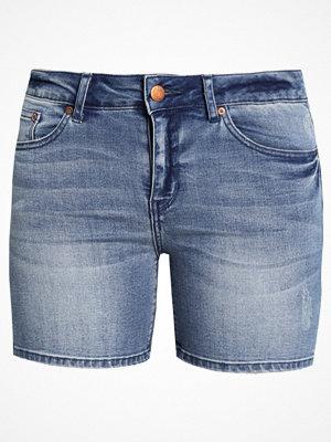 Shorts & kortbyxor - Only ONYPEARL Jeansshorts medium blue denim