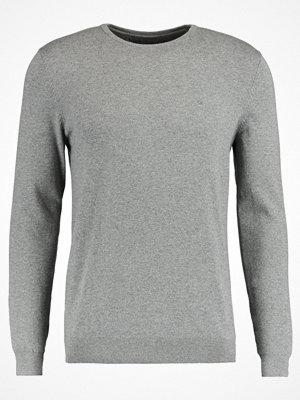 Tröjor & cardigans - Calvin Klein Jeans STAG Stickad tröja mid grey heather