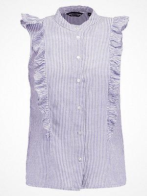 Dorothy Perkins STRIPE SLEEVELESS Skjorta blue