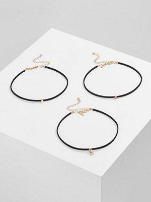 Topshop AUT SHAPE 3 PACK Halsband black