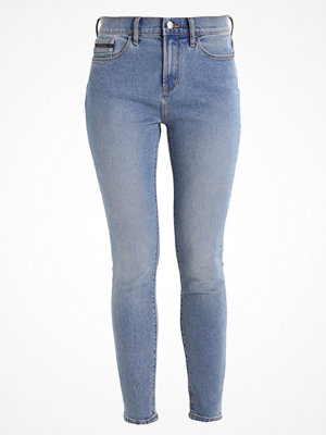 Calvin Klein Jeans HIGH RISE SKINNY ANKLE Jeans Skinny Fit bison blue