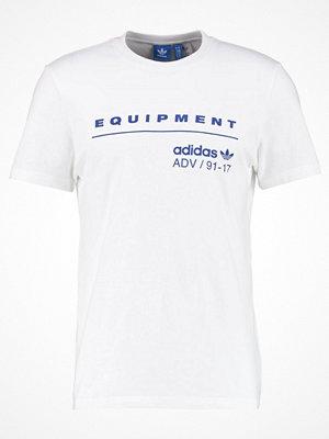 Adidas Originals CLASSIC Tshirt med tryck white/mysink