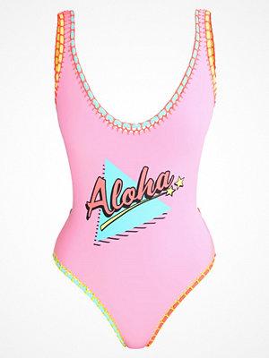 Topshop ALOHA  Baddräkt pink