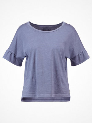 Abercrombie & Fitch BELL SLEEVE Tshirt bas blue