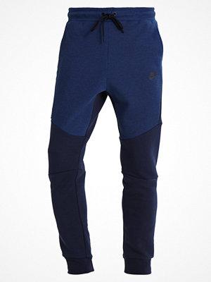 Nike Sportswear TECH FLEECE Träningsbyxor obsidianheather/obsidian/black