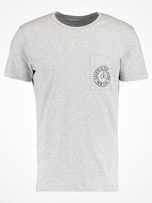 Calvin Klein Jeans TYPAIR Tshirt bas light grey heather